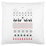 Ugly Christmas Humping Standard Flano Cushion Case (Two Sides) Back