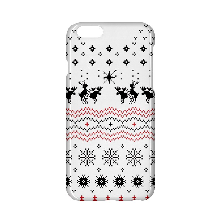 Ugly Christmas Humping Apple iPhone 6/6S Hardshell Case
