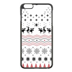 Ugly Christmas Humping Apple Iphone 6 Plus/6s Plus Black Enamel Case