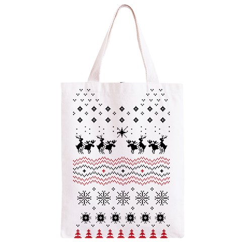 Ugly Christmas Humping Classic Light Tote Bag