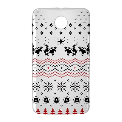 Ugly Christmas Humping Nexus 6 Case (White)