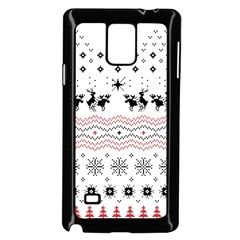 Ugly Christmas Humping Samsung Galaxy Note 4 Case (Black)