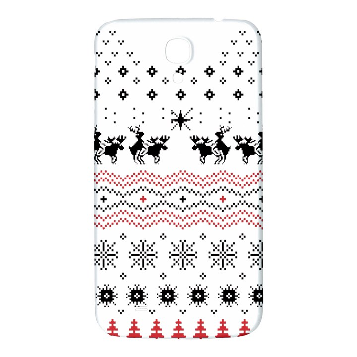 Ugly Christmas Humping Samsung Galaxy Mega I9200 Hardshell Back Case