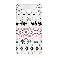 Ugly Christmas Humping Samsung Galaxy A5 Hardshell Case