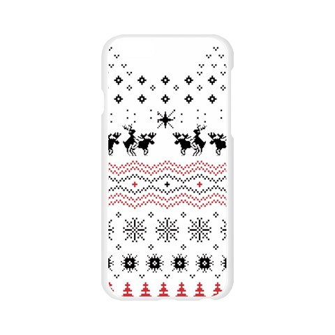 Ugly Christmas Humping Apple Seamless iPhone 6/6S Case (Transparent)