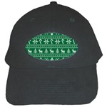 Ugly Christmas Black Cap Front