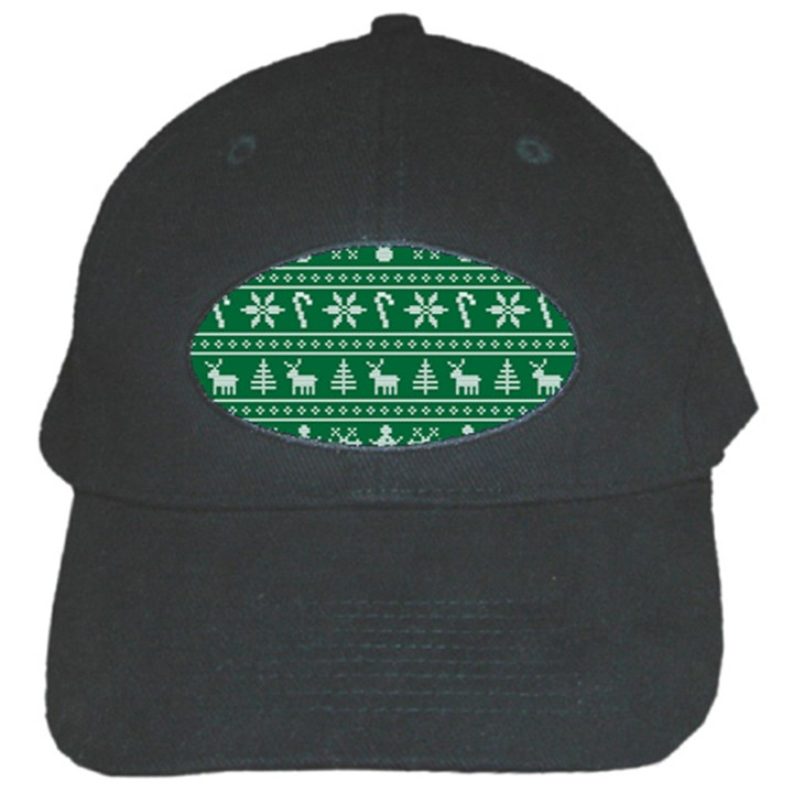Ugly Christmas Black Cap