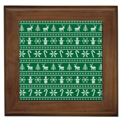 Ugly Christmas Framed Tiles