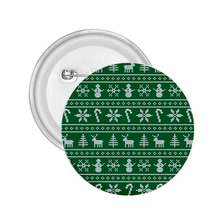 Ugly Christmas 2.25  Buttons