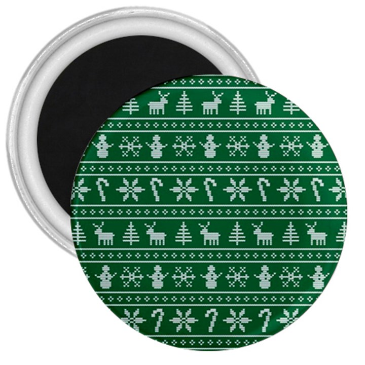 Ugly Christmas 3  Magnets