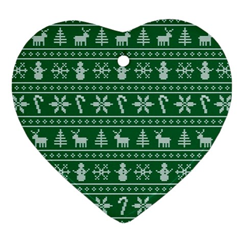 Ugly Christmas Ornament (Heart)
