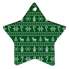Ugly Christmas Ornament (star)