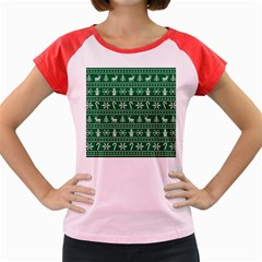 Ugly Christmas Women s Cap Sleeve T Shirt