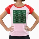 Ugly Christmas Women s Cap Sleeve T-Shirt Front