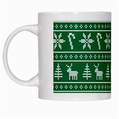 Ugly Christmas White Mugs