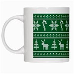 Ugly Christmas White Mugs Left