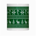 Ugly Christmas White Mugs Center