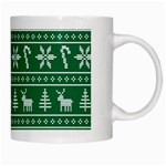 Ugly Christmas White Mugs Right