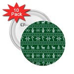 Ugly Christmas 2.25  Buttons (10 pack)  Front