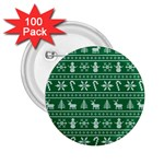 Ugly Christmas 2.25  Buttons (100 pack)  Front