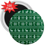 Ugly Christmas 3  Magnets (100 pack) Front