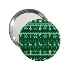Ugly Christmas 2 25  Handbag Mirrors