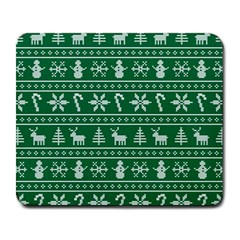 Ugly Christmas Large Mousepads