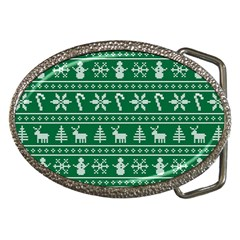 Ugly Christmas Belt Buckles