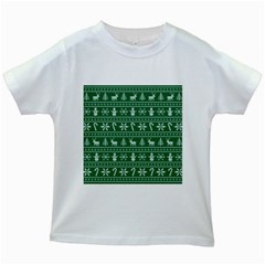 Ugly Christmas Kids White T-Shirts