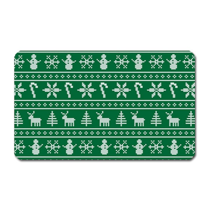Ugly Christmas Magnet (Rectangular)