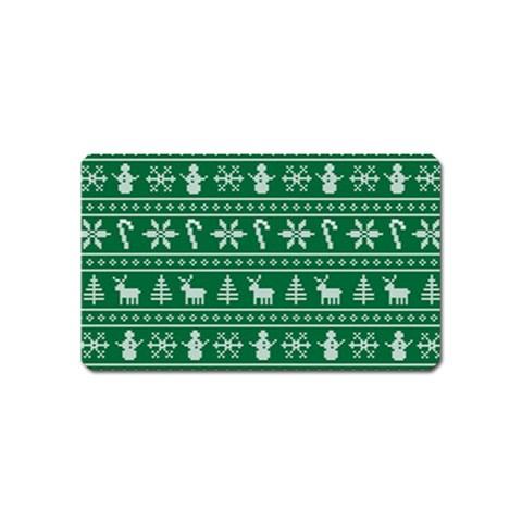 Ugly Christmas Magnet (Name Card)