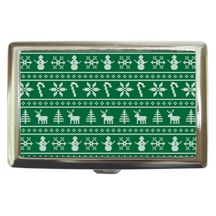 Ugly Christmas Cigarette Money Cases