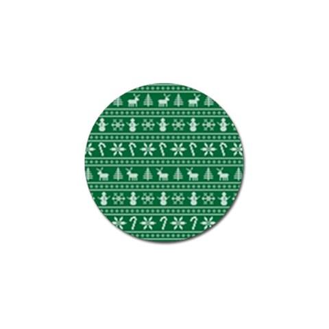 Ugly Christmas Golf Ball Marker