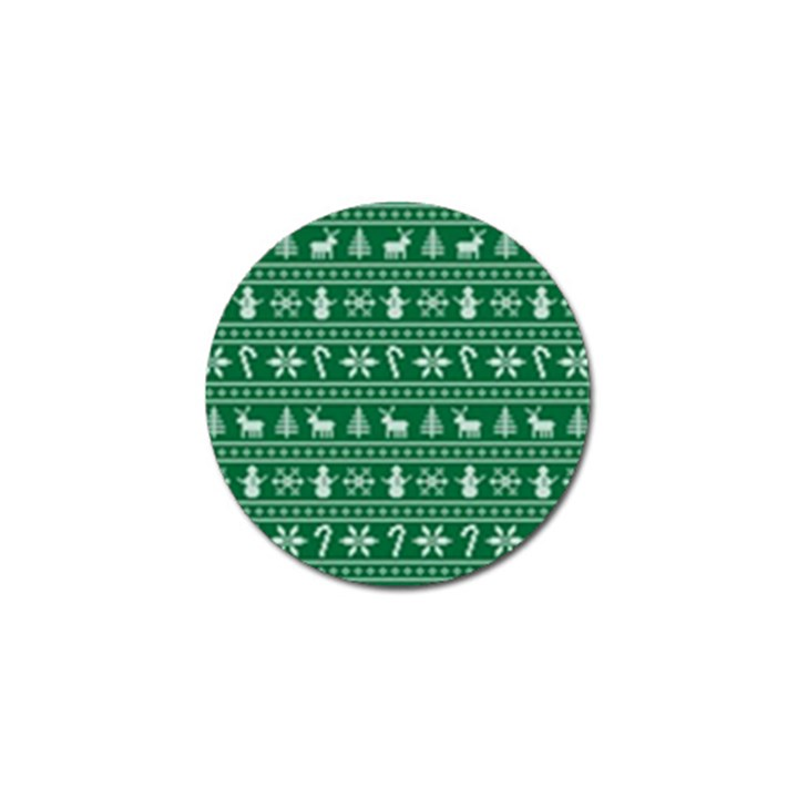 Ugly Christmas Golf Ball Marker