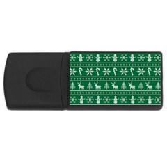 Ugly Christmas USB Flash Drive Rectangular (1 GB)