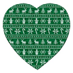 Ugly Christmas Jigsaw Puzzle (Heart)