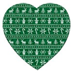 Ugly Christmas Jigsaw Puzzle (Heart) Front