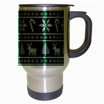 Ugly Christmas Travel Mug (Silver Gray) Right