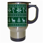 Ugly Christmas Travel Mugs (White) Right