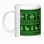 Ugly Christmas Night Luminous Mugs Left