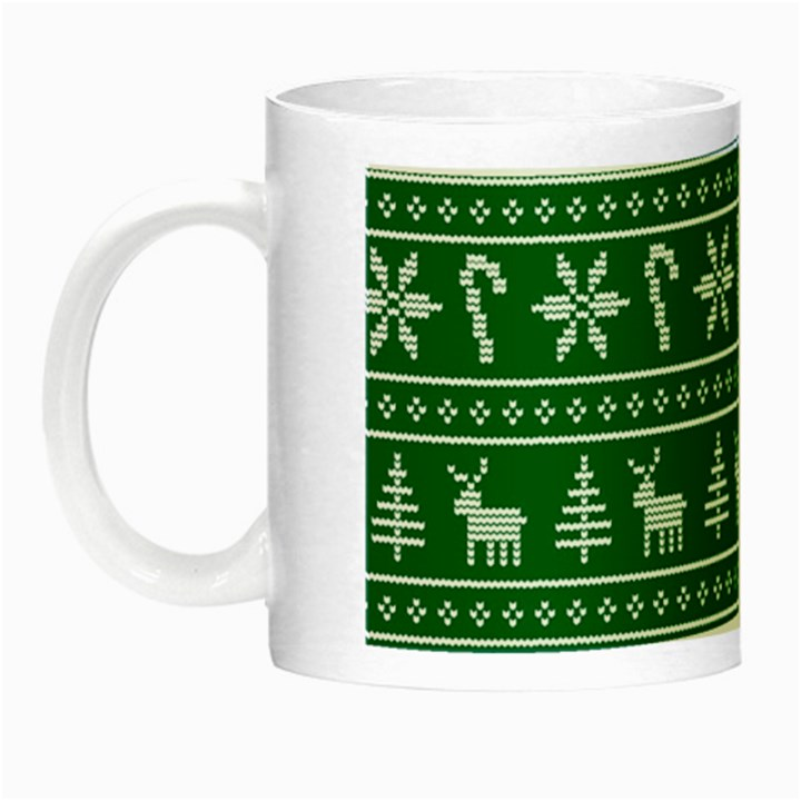 Ugly Christmas Night Luminous Mugs