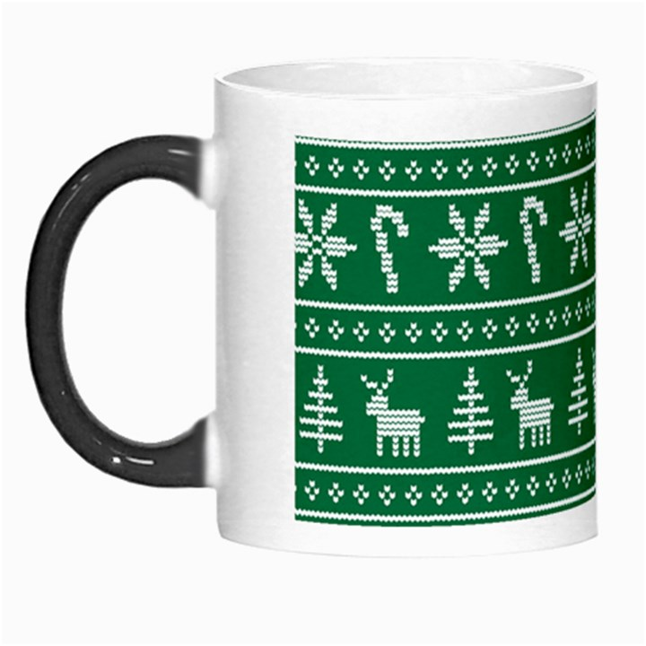 Ugly Christmas Morph Mugs
