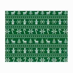 Ugly Christmas Small Glasses Cloth
