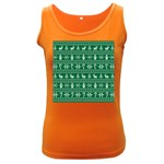 Ugly Christmas Women s Dark Tank Top Front