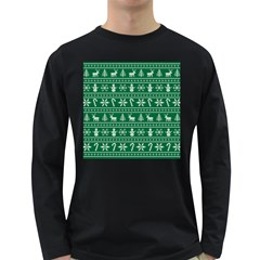 Ugly Christmas Long Sleeve Dark T-Shirts