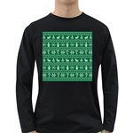 Ugly Christmas Long Sleeve Dark T-Shirts Front