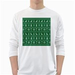 Ugly Christmas White Long Sleeve T-Shirts Front