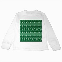 Ugly Christmas Kids Long Sleeve T Shirts