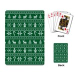 Ugly Christmas Playing Card Back