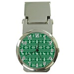 Ugly Christmas Money Clip Watches Front